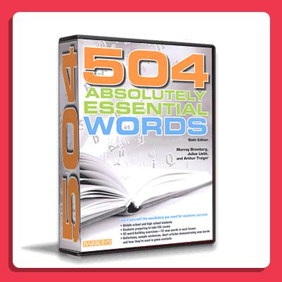 آموزش ویدیویی کتاب 504 واژه ضروری