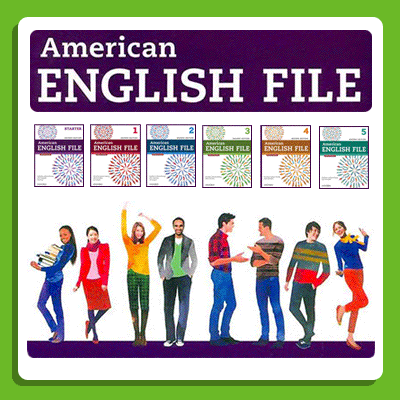 دانلود ویرایش دوم کتابهای American English File