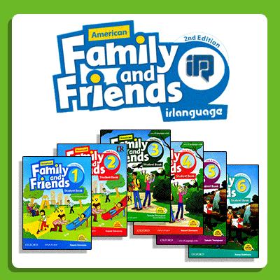 دانلود ویرایش دوم کتاب های American Family and Friends
